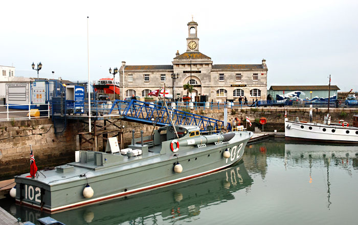 Torpedo Boat MTB 102 at Ramsgate on 20th September 2012